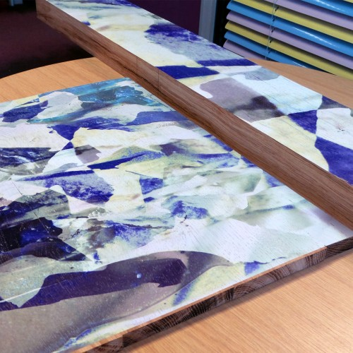 KSP pioneer high quality digital printing on wood