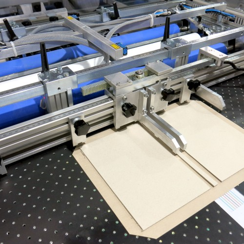 Manufacture paper over board folder
