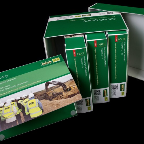 Bespoke polypropylene binder and case